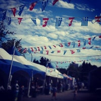 Photo taken at Vancouver Greek Summer Festival by Yumi A. on 7/1/2014