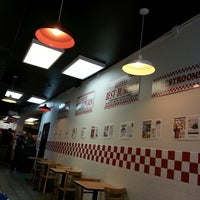 Photo taken at Five Guys by Alena on 5/10/2013