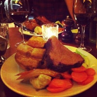 Photo taken at Hawksmoor Spitalfields by Alex H. on 4/2/2013