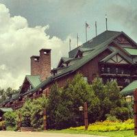 Photo taken at Disney's Wilderness Lodge by David on 7/27/2013