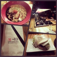 Photo taken at Ippudo by Kim Cruz B. on 10/19/2012