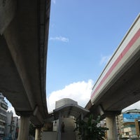 Photo taken at MRT Zhishan Station by Marc on 10/7/2012