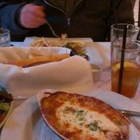 Photo taken at Café Bastille by David F. on 12/24/2012