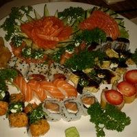 Photo taken at Hiro Sushi by Vivian O. on 9/25/2012