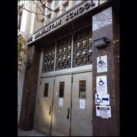Photo taken at Manhattan High School - PS 35 by NYC Sidewalker on 11/6/2012