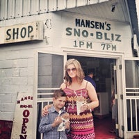 Photo taken at Hansen's Sno-Bliz by HipNerd_Kat 🚀 on 5/12/2013