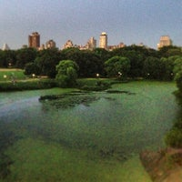 Photo taken at Central Park – Turtle Pond by Devin B. on 7/5/2013