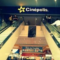 Photo taken at Cinépolis by Emilio D. on 5/2/2013