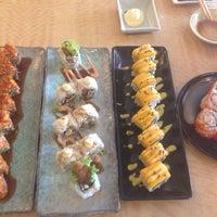 Photo taken at Sushi Naga by Nirmala E. on 11/3/2015