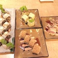 Photo taken at Sushi Naga by Nirmala E. on 10/4/2016