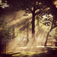 Photo taken at Marcus Garvey Park by Stephanie on 9/14/2012