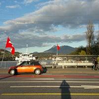 Photo taken at Seebrücke by abdulaziz F. on 4/6/2016