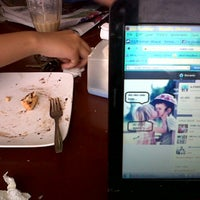 Photo taken at Dzaki Coffee by Ade ferrina h. on 12/2/2012