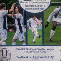 Photo taken at Trafford FC by Mark B. on 11/24/2012