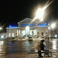 Photo taken at Vilnius Train Station by Jonas T. on 12/26/2012