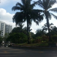 Photo taken at Peremba Square by Wong Vivienne on 8/20/2013