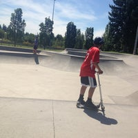 Photo taken at Tualatin Hills Skate Park by Elliot C. on 7/29/2013