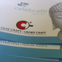 Photo taken at Clay Craft India - Fine Bone China by Deepak A. on 9/28/2012