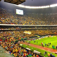 Photo taken at Estadio Azteca by Lenny A. on 5/27/2013
