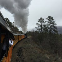 Photo taken at Durango & Silverton Narrow Gauge Railroad Co. by Chris ⚔ H. on 3/30/2016