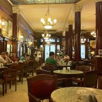 Photo taken at Gran Café Tortoni by Bianca B. on 12/2/2012