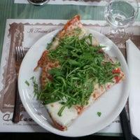 Photo taken at Pizzeria alla Fontana by Fabio F. on 4/12/2013