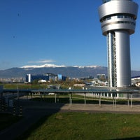 Photo taken at Sofia Airport (SOF) by Emir on 4/20/2013