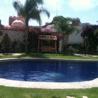 Photo taken at Posada Del Virrey by Jose Juan G. on 3/29/2014