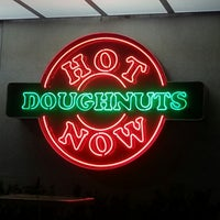 Photo taken at Krispy Kreme Doughnuts by Kristine L. on 12/30/2012