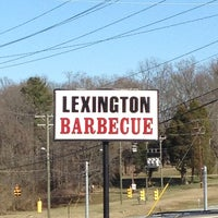 Photo taken at Lexington Barbecue by David on 2/18/2013