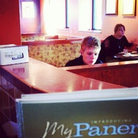 Photo taken at Saint Louis Bread Co. by Christina S. on 1/14/2013