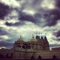 Photo taken at BAPS Shri Swaminarayan Mandir by Anna V. on 4/20/2013