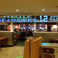 Photo taken at Seattle Seahawks 12 Club by Matt M. on 11/13/2012