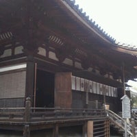 Photo taken at 霊山寺 by Mari T. on 11/28/2012