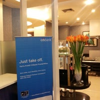 Photo taken at Citibank Lounge by Poedjo W. on 11/18/2012