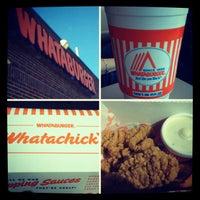 Photo taken at Whataburger by Alyssa on 10/11/2012