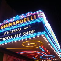 Photo taken at Ghirardelli Ice Cream & Chocolate Shop by Rick L. on 7/18/2013