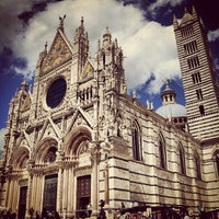 Photo taken at Duomo di Siena by Bülent D. on 6/14/2013