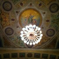 Photo taken at Teatro Giuseppe Manini by Davide F. on 3/19/2013