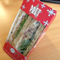 Photo taken at Pret A Manger by Emma T. on 11/12/2012