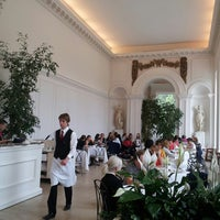 Photo taken at Orangery at Kensington Palace by Alessandro V. on 6/22/2013