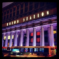 Photo taken at Chicago Union Station by Kelly on 12/21/2012