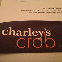 Photo taken at Charley's Crab by Jean W. on 1/28/2013