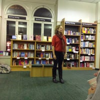 Photo taken at Waterstones by Cathy on 11/27/2012
