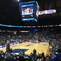 Photo taken at Philips Arena by Matthew B. on 3/14/2013
