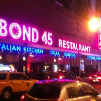 Photo taken at Bond 45 by Heavy K. on 11/23/2012