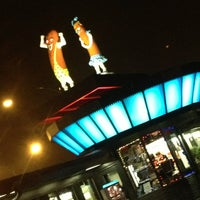 Photo taken at Superdawg Drive-In by Amy on 12/19/2012