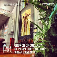 Photo taken at Church of Our Lady Of Perpetual Succour by Ivanhoe C. on 3/24/2013