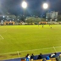 Photo taken at Estadio Don León Kolbowski - Club Atlético Atlanta by Gustavo M. on 5/9/2015