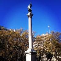 Photo taken at Plaza de Cagancha by Kleber N. on 6/1/2013